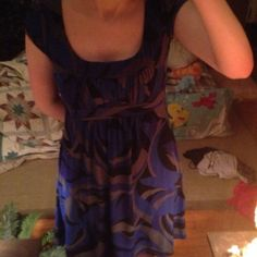 Multi Colored Glitter Dress Small I've had this for years but it doesn't fit anymore. It's in excellent condition. 😊 Black Purple Blue and Grey. B Wear Dresses Midi