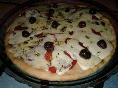 Pizza rápida y esponjosa de harina leudante Blancaflor