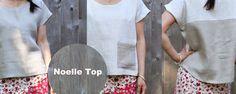 Noelle Top Free Pattern
