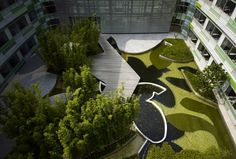 Henkel Asia-Pacific and China Headquarters in Shanghai, china by HPP Architects