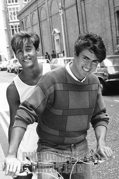formed in 1981 by George Michael and Andrew Ridgeley . stock photo