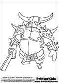 clash royale coloring pages sparky. Clash Royale is a tower rush based video game where 2 - 4 competing players destroy enemy towers. The game that was first released in 2016 immediately. Coloring Pages To Print, Printable Coloring Pages, Coloring Pages For Kids, Coloring Sheets, Colouring, Clash Clans, Barbarian King, Minecraft Coloring Pages, Dragon Coloring Page