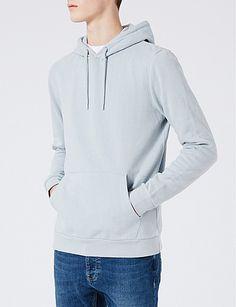 TOPMAN Classic-fit jersey hoody