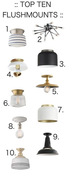 Upgrading The Boob Light HOME INSPIRATION Pinterest Lights - Surface mounted kitchen light fixtures