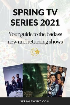 Hey Serial Fans and welcome to the Spring TV Series 2021: Your Guide To The Badass New And Returning Shows. In this guide, we are recommending you the best TV series to watch and stream this Spring. And in the Spring TV series 2021 guide, we have selected only the best badass new and returning shows premiering or released in April 2021. We selected fantasy, comedy, drama. action, dramedy, and more series. #TVSeries #TVShows #BestTVShows #ShowsToWatch Tv Series To Watch, Book Series, Laura Donnelly, Famous In Love, Crazy Ex Girlfriends, Drama Tv, New Comedies, New Fantasy, Series Premiere