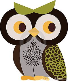 Owl character by Vecstock Fee, via Dreamstime