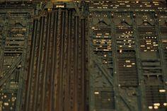 'Blade Runner' taller de maquetas, vía Imgur. Señala encima de la imagen para verla más grande.