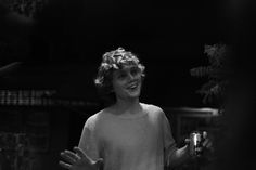 ahs, black and white, and evan peters image