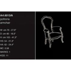 Bakokko Arm Chair Model 6013-A. N/A