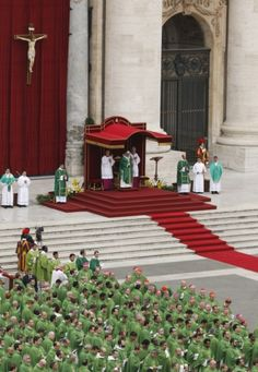 Pope celebrates Mass for families in St. Peter's Square at Vatican