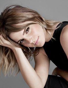 """""""Emma Watson photographed by Kerry Hallihan for Entertainment weekly. """""""