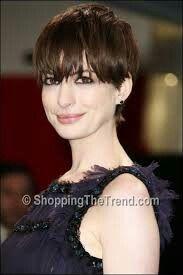 Anne Hattaway Anne Hathaway Haircut, Anne Hattaway, Short Hair Styles, Hair Cuts, Bob Styles, Haircuts, Short Hair Cuts, Short Hairstyles, Hair Style
