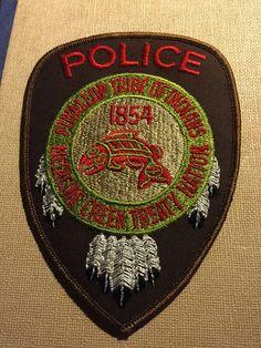 OLD PUYALLUP WASHINGTON MEDICINE CRK TRIBAL POLICE PATCH