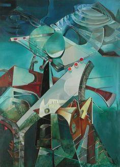 Enrico Donati, Tower of the Alchemist: Partie de l'ultrason, 1947