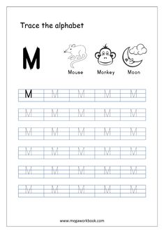 Need Letter Tracing Worksheets for kids? Check our free printable worksheets for Capital Letter Tracing – write in box as well as sheet. Alphabet Writing Practice, Printable Alphabet Worksheets, Letter Tracing Worksheets, Alphabet Tracing, Handwriting Worksheets, Alphabet Crafts, Alphabet Coloring, Handwriting Practice, Alphabet Letters