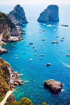 Capri, Italy.Saliendo de la Gruta Azul...belloooo