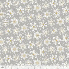 Blend Fabrics Snow Waltz 101.131.05.1 Land of Snow Grey