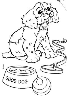 Puppies Coloring Pages 8