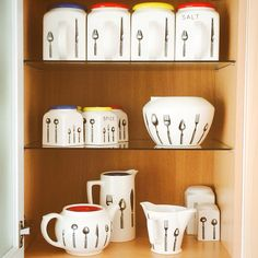 My Bristol Longline collection from the Pountney factory which closed in Long A Line, Bristol, Mid Century, Ceramics, Mugs, Tableware, Collection, Vintage, Home