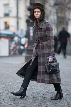 Неделя высокой моды в Париже: Ксения Собчак, Наталья Водянова, Кендалл Дженнер и другие герои street style | СПЛЕТНИК