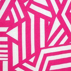 0bda0efd4d2 Fuchsia Pink Nautical Flag Cotton Jersey Blend Knit Fabric - Customer  favorite nautical flag stripe design