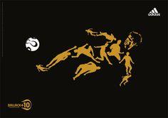 Ballack +10 Adidas football advertising 2