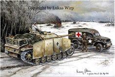 German assault gun Bulge Wehrmacht soldiers