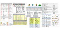 Odkazy na všechny tabulky z našeho webu, které si můžete vytisknout do hodin angličtiny. Periodic Table, Names, Periodic Table Chart, Periotic Table