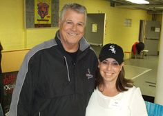 Bill Melton-former White Sox third baseman and now broadcaster.