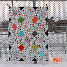 The Zombie Quilt by Rossie by r0ssie, via Flickr
