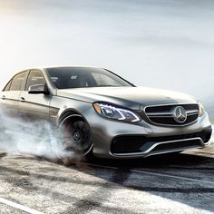 Smoke 'em if you got 'em. E63 Amg, Daimler Ag, Benz E Class, Mercedes Benz Cars, Sweet Cars, Amazing Cars, Car Car, Luxury Cars, Cool Cars