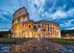 Whispers From The Past - Rome Italy In the Eternal City of Rome, there's nothing more iconic, more recognized, or more mesmerizing than The Colosseum.