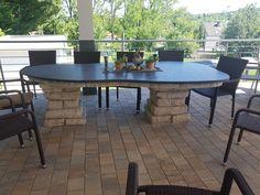 Outdoor Outdoorküchen Outdoorkitchen Table Design Stone Naturstein BBQ Outdoor Furniture, Outdoor Decor, Table, Design, Home Decor, Natural Stones, Decoration Home, Room Decor