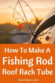 DIY Guide To Making Your Own Fishing Rod Roof Rack Tube - A cool and easy way to take your rod on your car or SUV. DIY Guide To Making Your Own Fishing Rod Roof Rack Tube - A cool and easy way to take your rod on your car or SUV. Fishing Rod Tubes, Fishing Rod Rack, Fishing Rod Storage, Fishing Hole, Fishing Rods And Reels, Best Fishing, Kayak Fishing, Fishing Tackle, Fishing Charters
