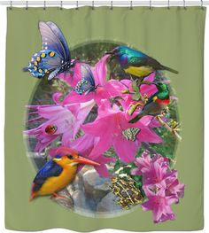 - World's Largest All-Over-Print Online Store! Custom Shower Curtains, New Product, Flower Designs, Worlds Largest, Succulents, Create, Party, Flowers, Cape Town