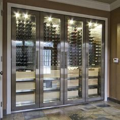 Modern Wine Cellar Bedroom Closet Design, Pictures, Remodel, Decor and Ideas