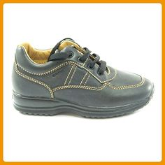 Geox - Geox scarpe bambino J Happy A H2 - Black, 1Y