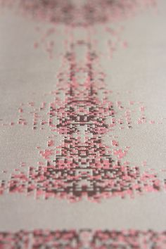 BeatWoven uses audio technology to translate music into patterns woven onto fabric. Tchaikovsky's 'Pas De Deux' with Oboe from The Sleeping Beauty