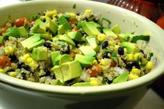 easy to make salads | Southwestern Quinoa Salad with Chipotle Vinaigrette | Jazz in the ...