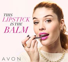 "Check out our current obsession: Avon's Ultra Color Indulgence Lip Color. Avon Global Celebrity Makeup Artist Lauren Andersen shares her love for the line and shares why: ""Ultra Color Indulgence feels like a balm, so your lips stay protected throughout the day."