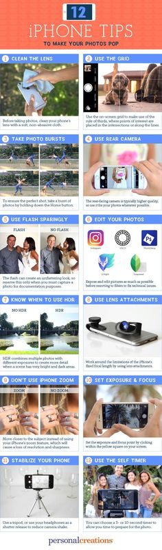 12 iPhone Photography Tips to Make Your Photos Pop - Personal Creations Blog
