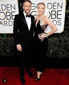 Blake Lively eu não esperava comprimento ingrato vindo justamente de você mas segue o baile belíssima das canelas pra cima e go Deadpool! #blakelively #redcarpet #goldenglobes
