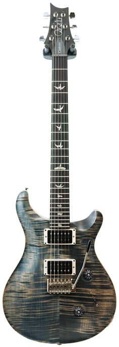 PRS Wood Library Custom 24 Faded Whale Blue Satin Honduran Rosewood Neck Pattern Thin 10 Top 85/15 Pickups #231133