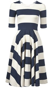 Ipanema Dress in Navy | Gorman