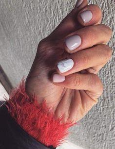 #nails #design #grey #beautifull