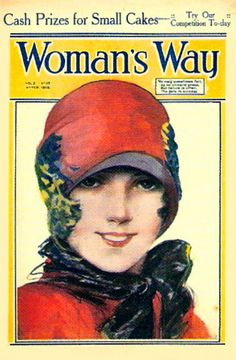 1920's magazine covers | WOMEN'S WAY MAGAZINE COVER 1920s CARD | Flickr - Photo Sharing!