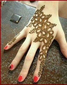Arabic mehndi design for women