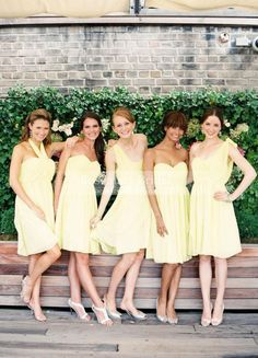 Short Mini A Line One Shoulder & Sweetheart Chiffon Summber Cheap High Quality Bridesmaid Dresses Yellow Party Dress Gown Hot Sale Online with $78.54/Piece on Rosemarybridaldress's Store | DHgate.com