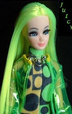 Custom Dawn Dawn Dolls, Neon Hair, Vinyl Dolls, Old Dolls, Vintage Barbie Dolls, Doll Hair, Princess Zelda, Disney Princess, Siamese
