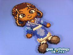 Katara from Avatar the Last Airbender Perler Bead Sprite Geek Craft by GeekMythologyCrafts, $15.00